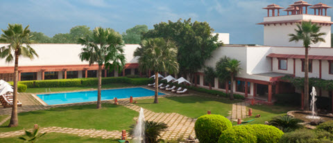 agra hotel le trident