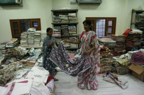 Jaipur Shopping tissus
