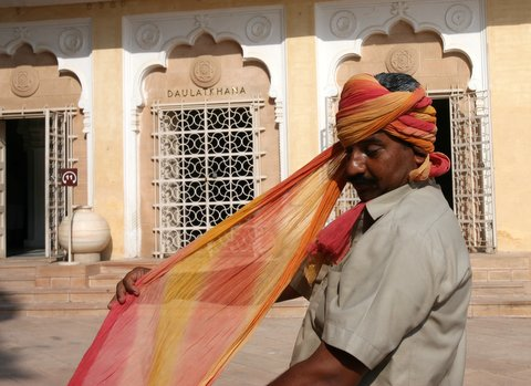 Jodhpur Fort de Mehrangarh turban