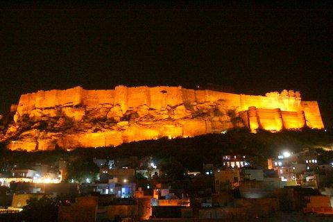 Jodhpur Fort de Mehrangarh