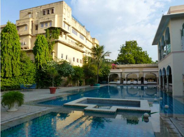 Samode haveli Jaipur piscine
