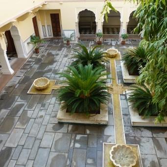 Jaipur hotel Samode haveli (2)