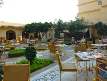 Jaipur Hotel Samode Haveli restaurant