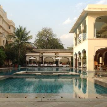 Jaipur Samode haveli piscine 2