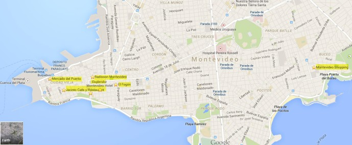 Carte Montevideo