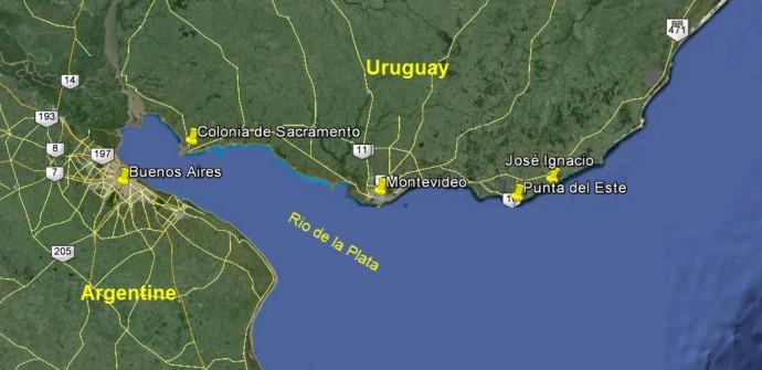 Carte Uruguay2