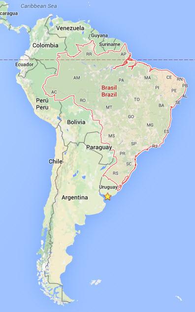 Situation du Brésil