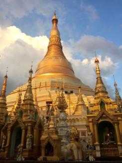 La pagode Shwedagon